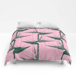 Strelitzia Alba Comforters