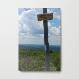 Hubbard Hill New Hampshire Metal Print
