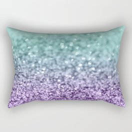 Mermaid Girls Glitter #9 #shiny #decor #art #society6 Rectangular Pillow
