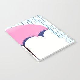 umbrella rain storm Notebook