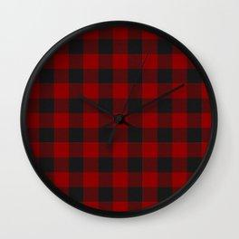 Clan MacGregor Tartan Wall Clock