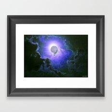 Summer Full Moon Framed Art Print
