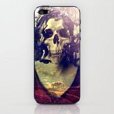 Miss Skull iPhone & iPod Skin