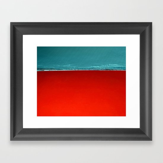 Scorched Earth Framed Art Print