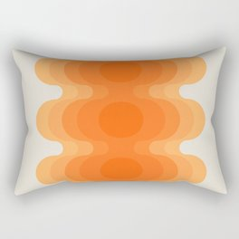 Echoes - Creamsicle Rectangular Pillow