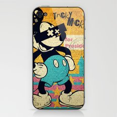 Tricky Mickey iPhone & iPod Skin