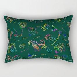 Magic symbols Rectangular Pillow