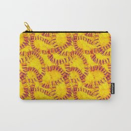 Orange Peel Impressions Carry-All Pouch