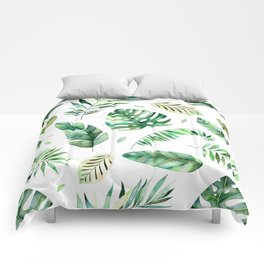 Geen Leafs Pattern Comforters