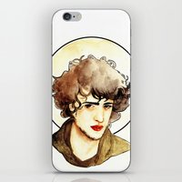 grantaire iPhone & iPod Skins featuring Grantaire by chazstity