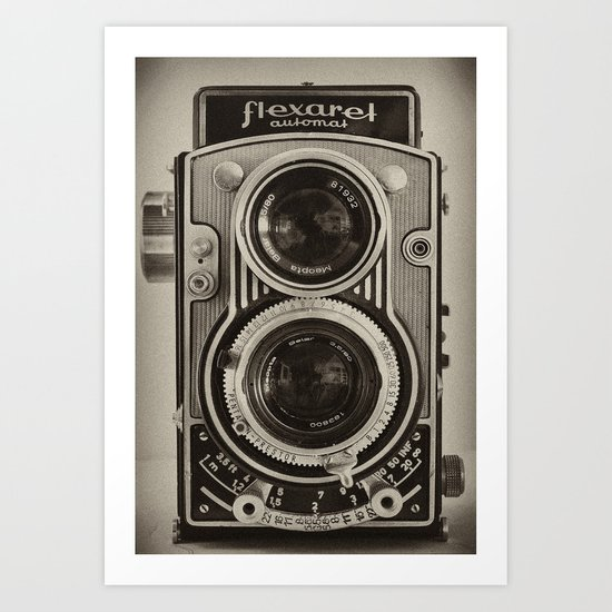 Flexaret | Vintage Camera Art Print