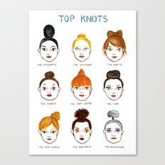 Top Knots Canvas Print