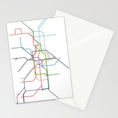 London tube Stationery Cards