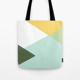 Geometrics - citrus & concrete Tote Bag