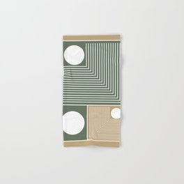 Stylish Geometric Abstract Hand & Bath Towel
