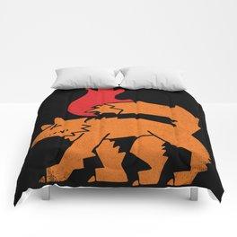 Fox Fire Comforters