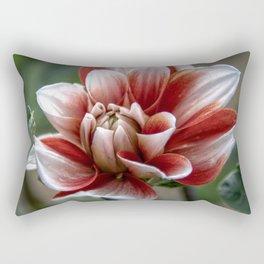 Unfurling flower Rectangular Pillow