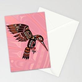 Hummingbird, Salish Seasons Stationery Cards