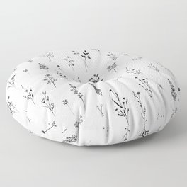Wildflowers Floor Pillow