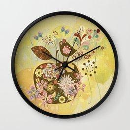 Der Apfel - The Apple Wall Clock
