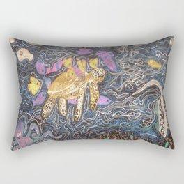 Deep Under the Sea Rectangular Pillow