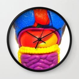 """PLASTIC ANATOMY"" ...shirt/ iphone case Wall Clock"