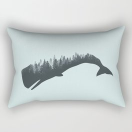 The Forest In The Whale Rectangular Pillow