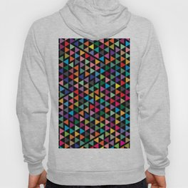 Triangles Mosaic Pattern Hoody