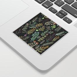Dark Botanic Sticker