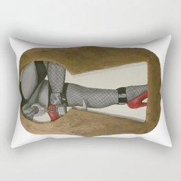 Behind Closed Doors Rectangular Pillow