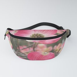 quixotic pink dogwood Fanny Pack