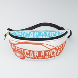A Fast Sport Car Fanny Pack
