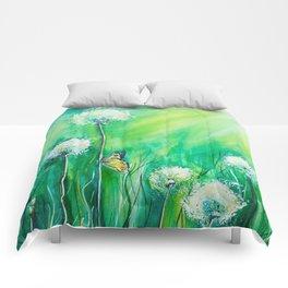 The color of summer Comforters