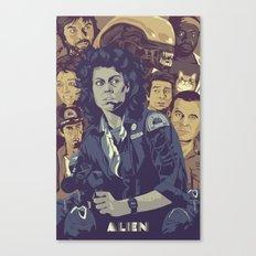 ALIEN v2 Canvas Print