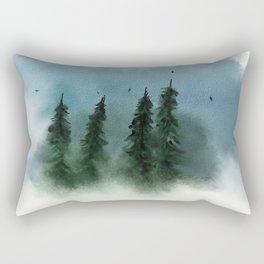 Forrest Vignette Rectangular Pillow