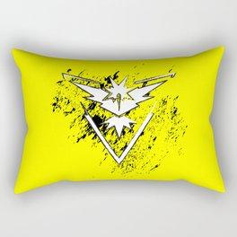Team Yellow Rectangular Pillow