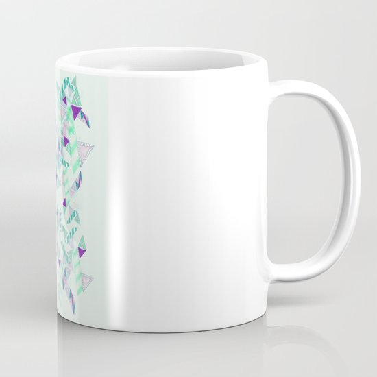 Kaleidoscopic print illustration  Mug