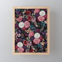 EXOTIC GARDEN - NIGHT VIII Framed Mini Art Print
