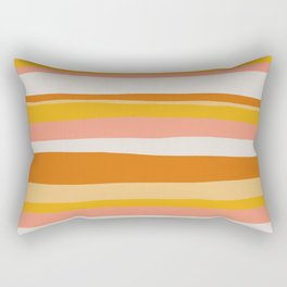 sedona, desert stripes Rectangular Pillow