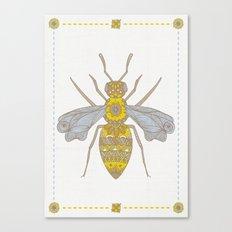 Mr Bee Canvas Print