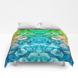 Awesome Lava Rock Explosion Comforters