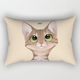 I Spy a Sky Raisin Rectangular Pillow