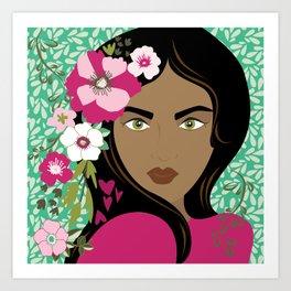 Floral & Feminine - Stunning Art Print