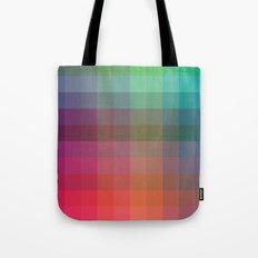 Rainbow Squares Tote Bag