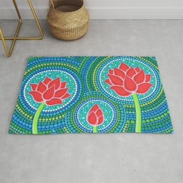 Lotus Family of 3 Rug