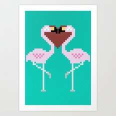 perfect match Art Print