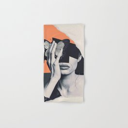 collage art / butterfly Hand & Bath Towel