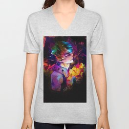 The hero of the explosions Unisex V-Neck