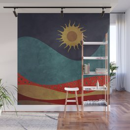 color under the sun Wall Mural
