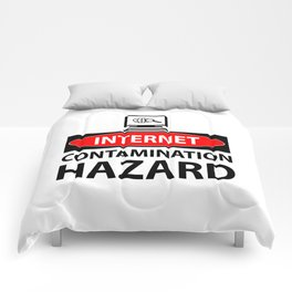 Internet – contamination hazard Comforters